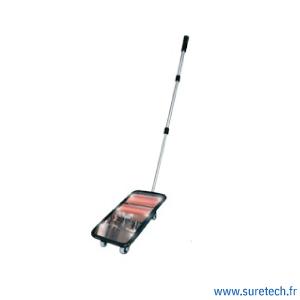 miroir inspection véhicule LED roulette