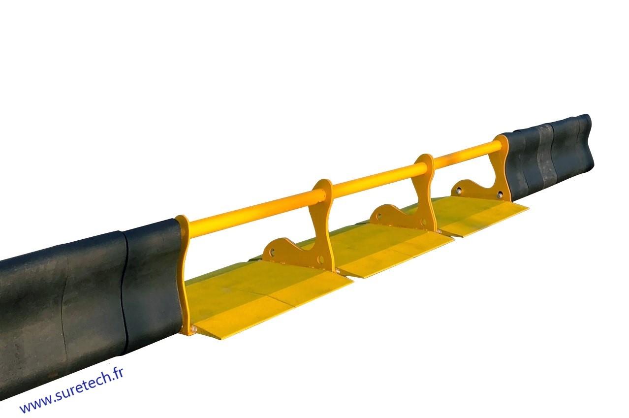 BlocGom anti véhicules béliers avec accès véhicules Image